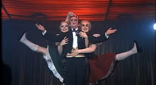 Joel Grey and his Two Ladies