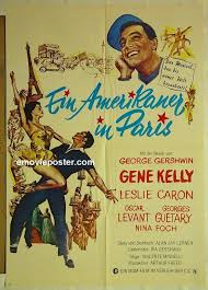 German poster for An American in Paris