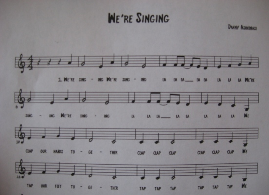 We're Singing 1