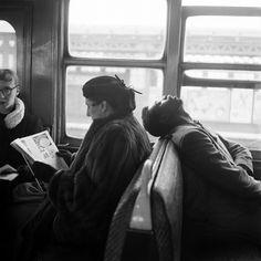 subway sleep