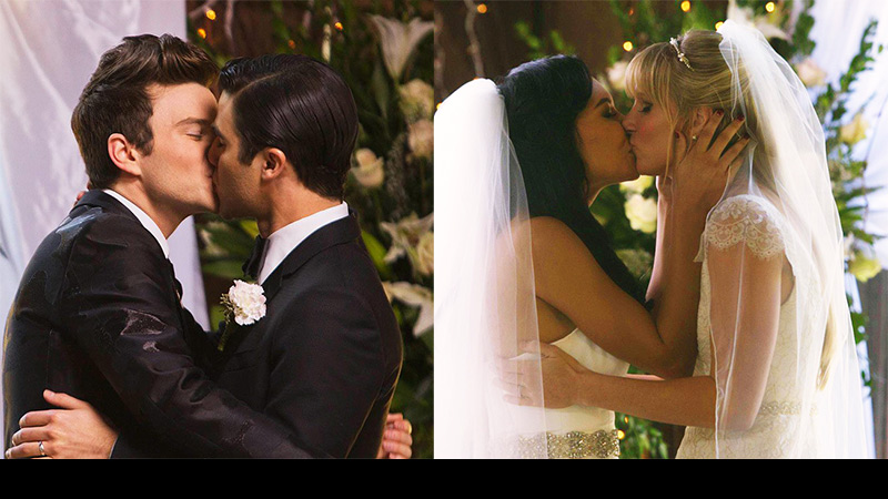 The Glee double wedding