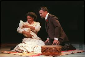 Audra McDonald and Brian Stokes Mitchell as Sarah and Coalhouse