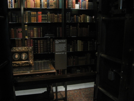 The large vault, where Morgan kept especially valuable books