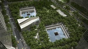 NYC reflecting pools
