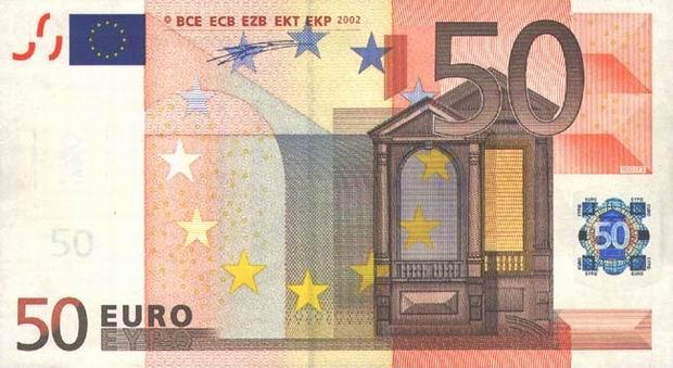 euro 50 obverse