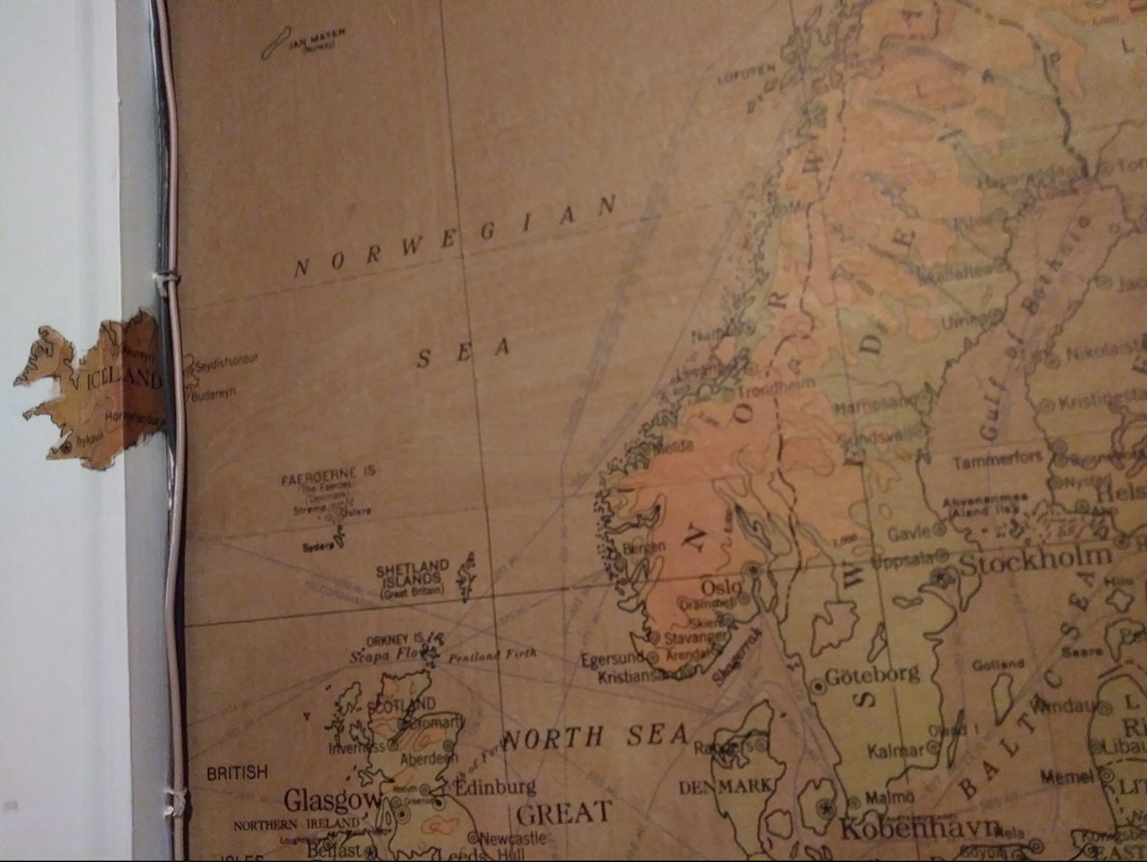Map-iceland