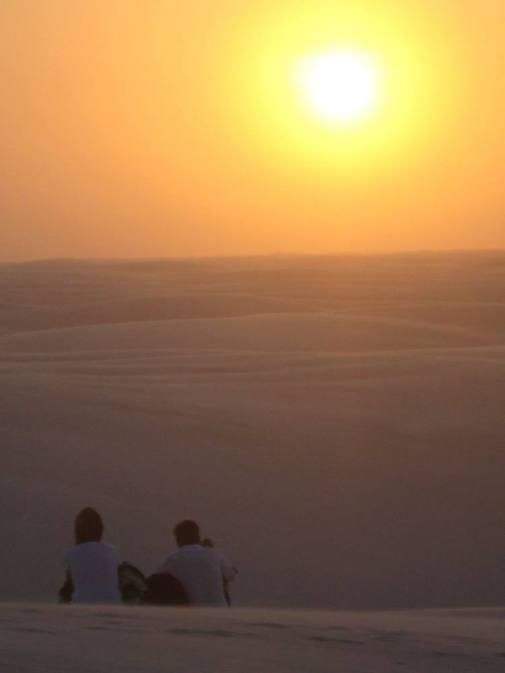Lencois sunset