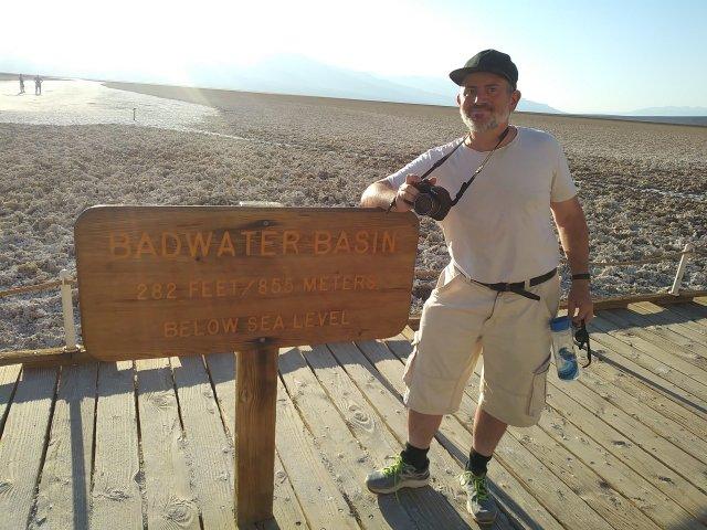 DV - Ed Badwater pose