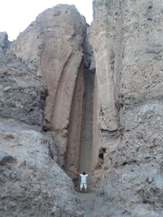 DV - Ed dry waterfall