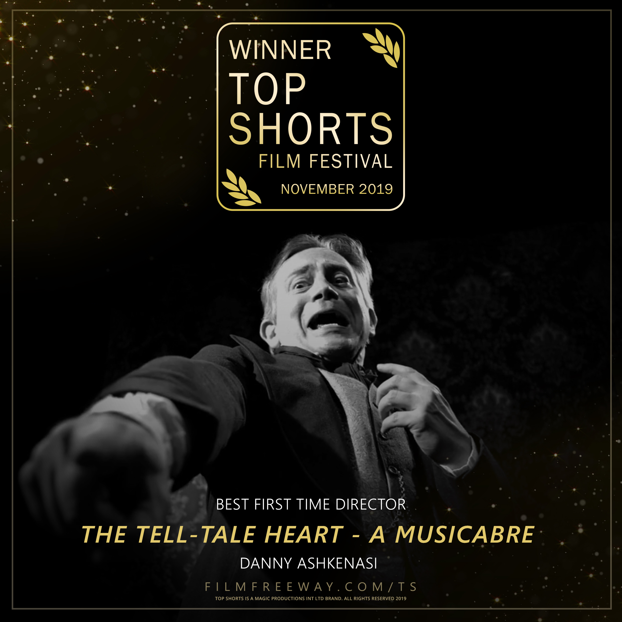 Top Shorts Winner The Tell-Tale Heart - a Musicabre design