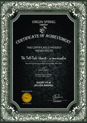 Virgin Spring The Tell-Tale Heart - a musicabre_Short Film