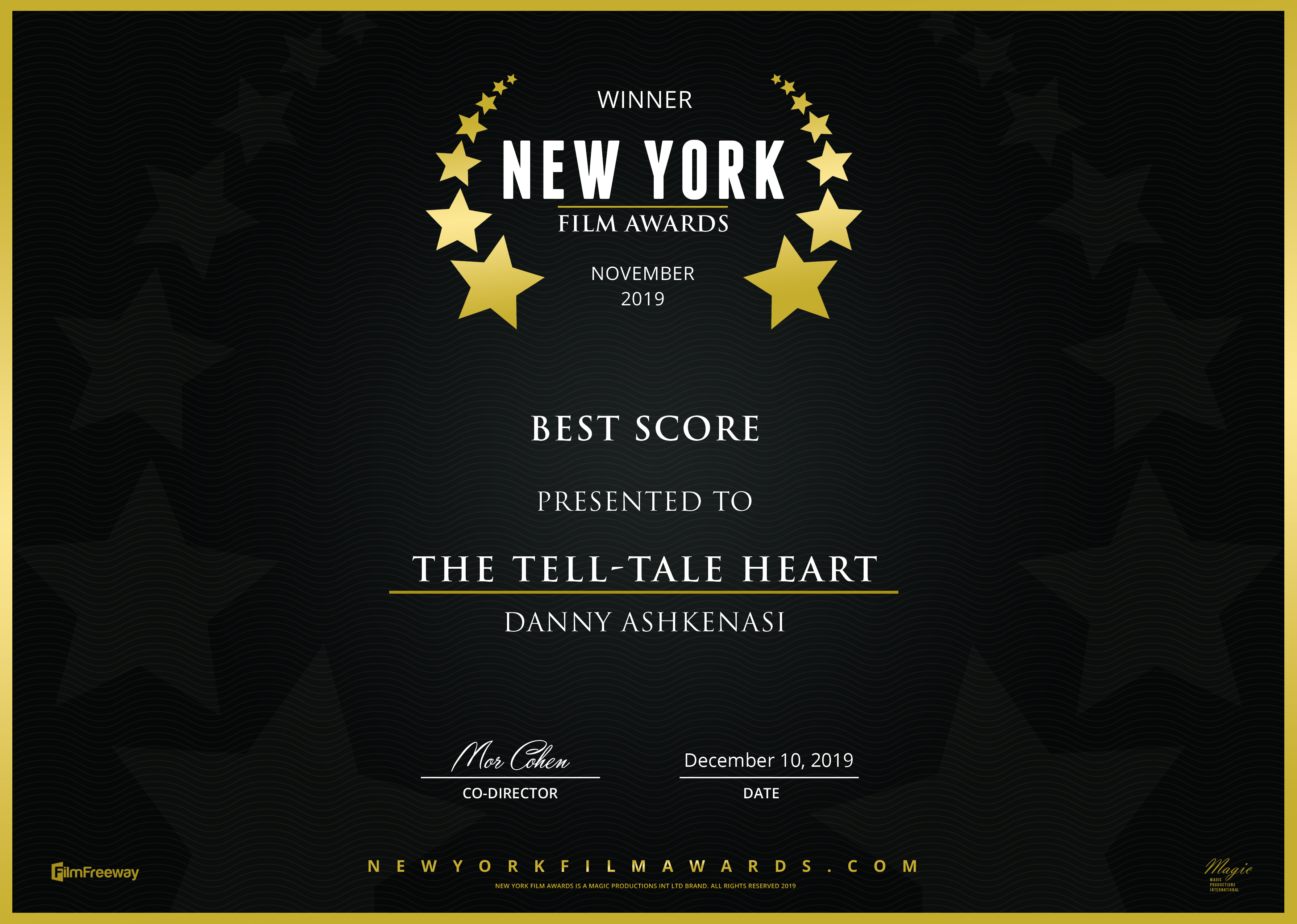 New York - Score - The Tell-Tale Heart 2