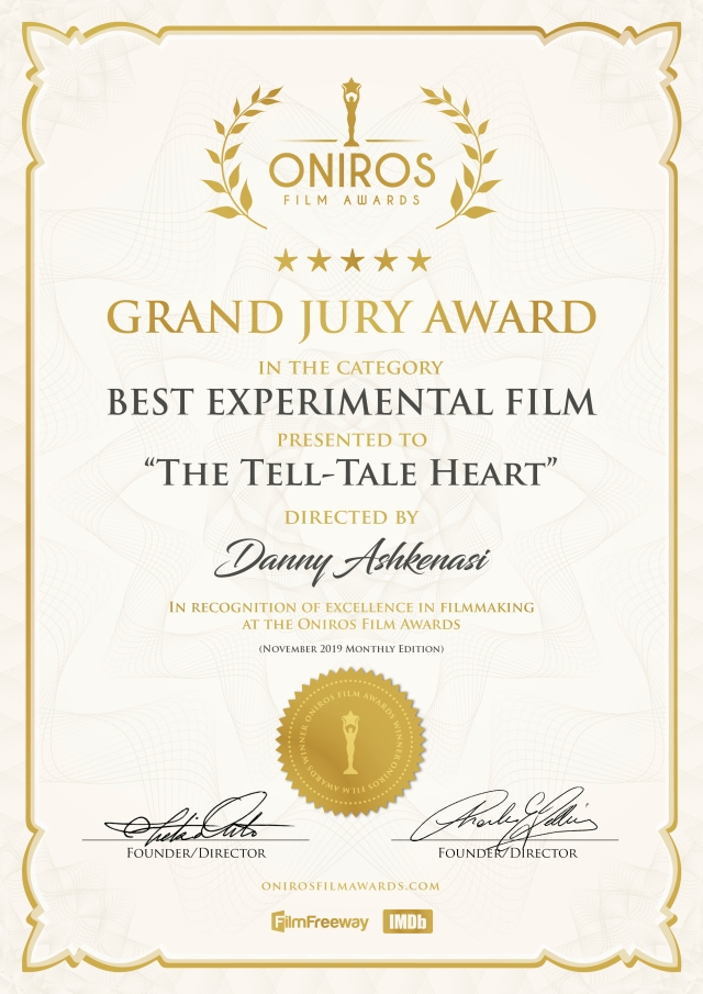 Oniros Grand Jury Award The Tell-Tale Heart