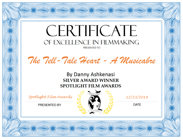Spotlight Certificate