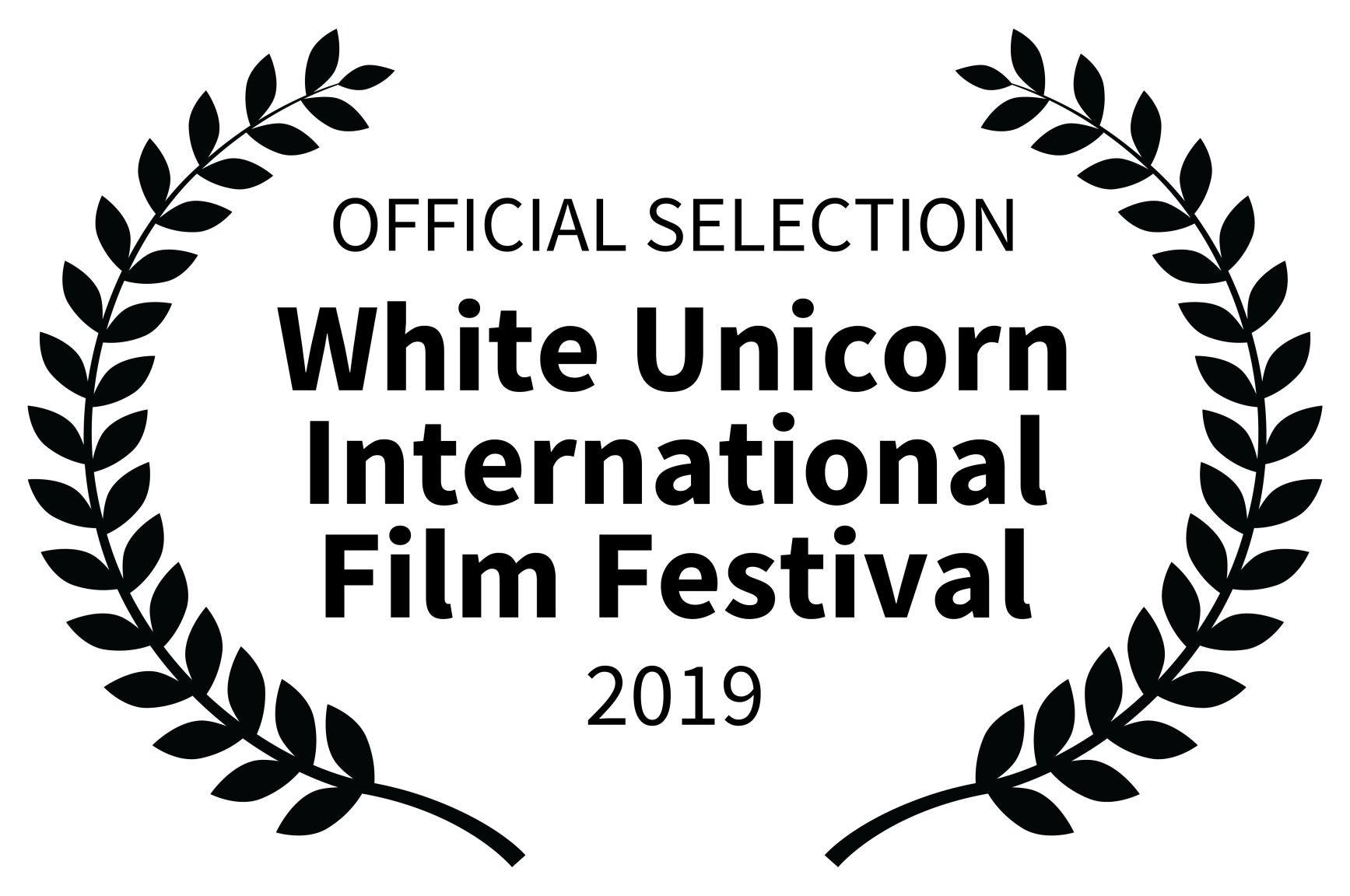 OFFICIAL SELECTION - White Unicorn International Film Festival - 2019