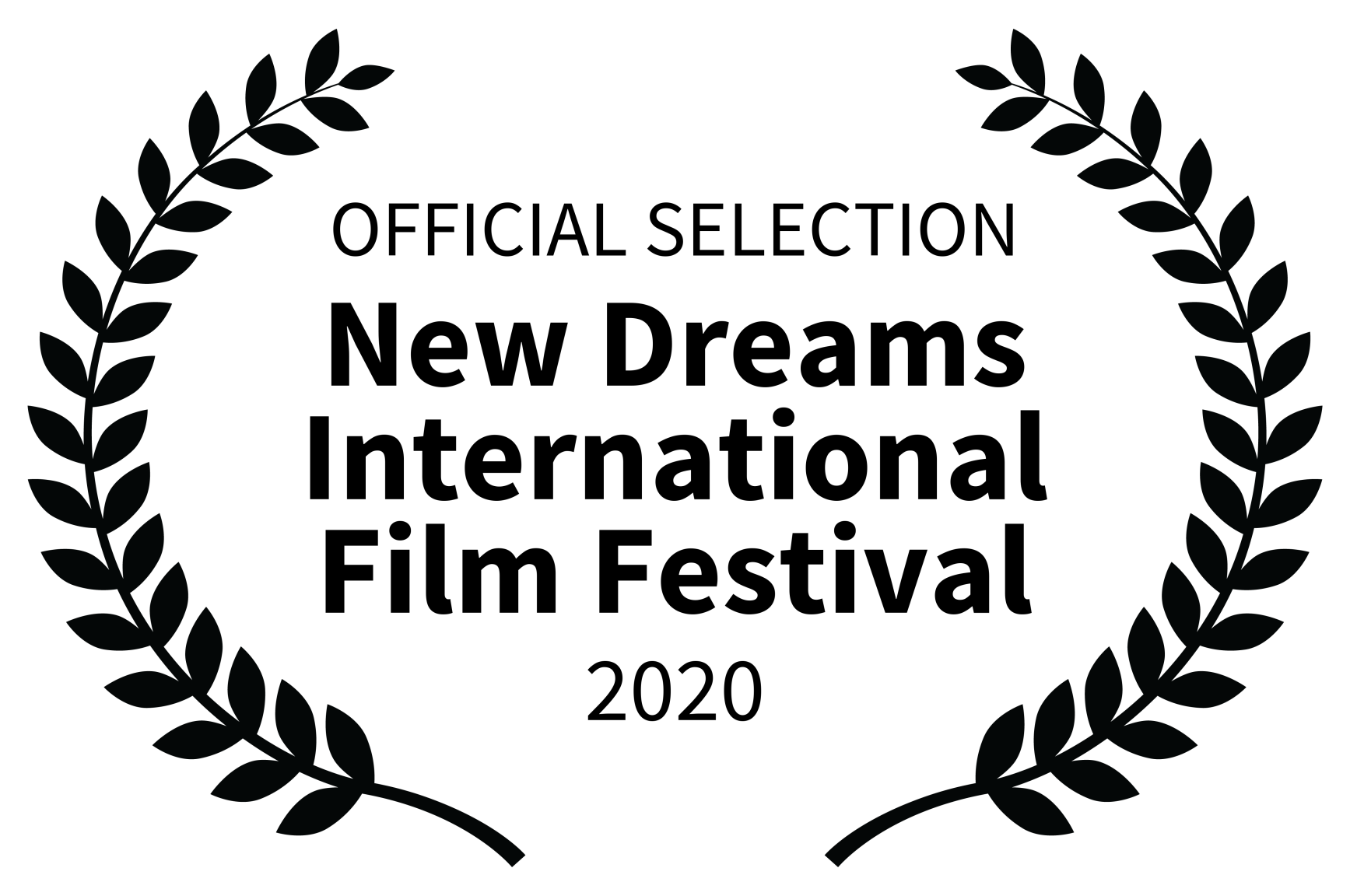 OFFICIAL SELECTION - New Dreams International Film Festival - 2020-1